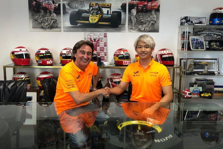 海外レース他 | 佐藤万璃音、カンポス・レーシングからFIA-F2参戦決定。「人生最大の挑戦を楽しみにしている」