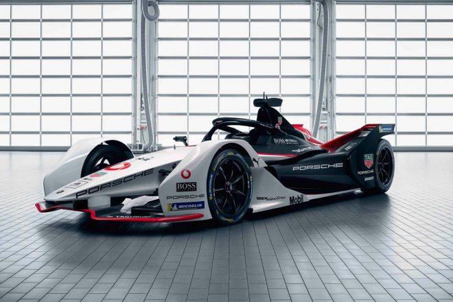 ポルシェがABBフォーミュラE選手権に投入する新型マシン『99Xエレクトリック』
