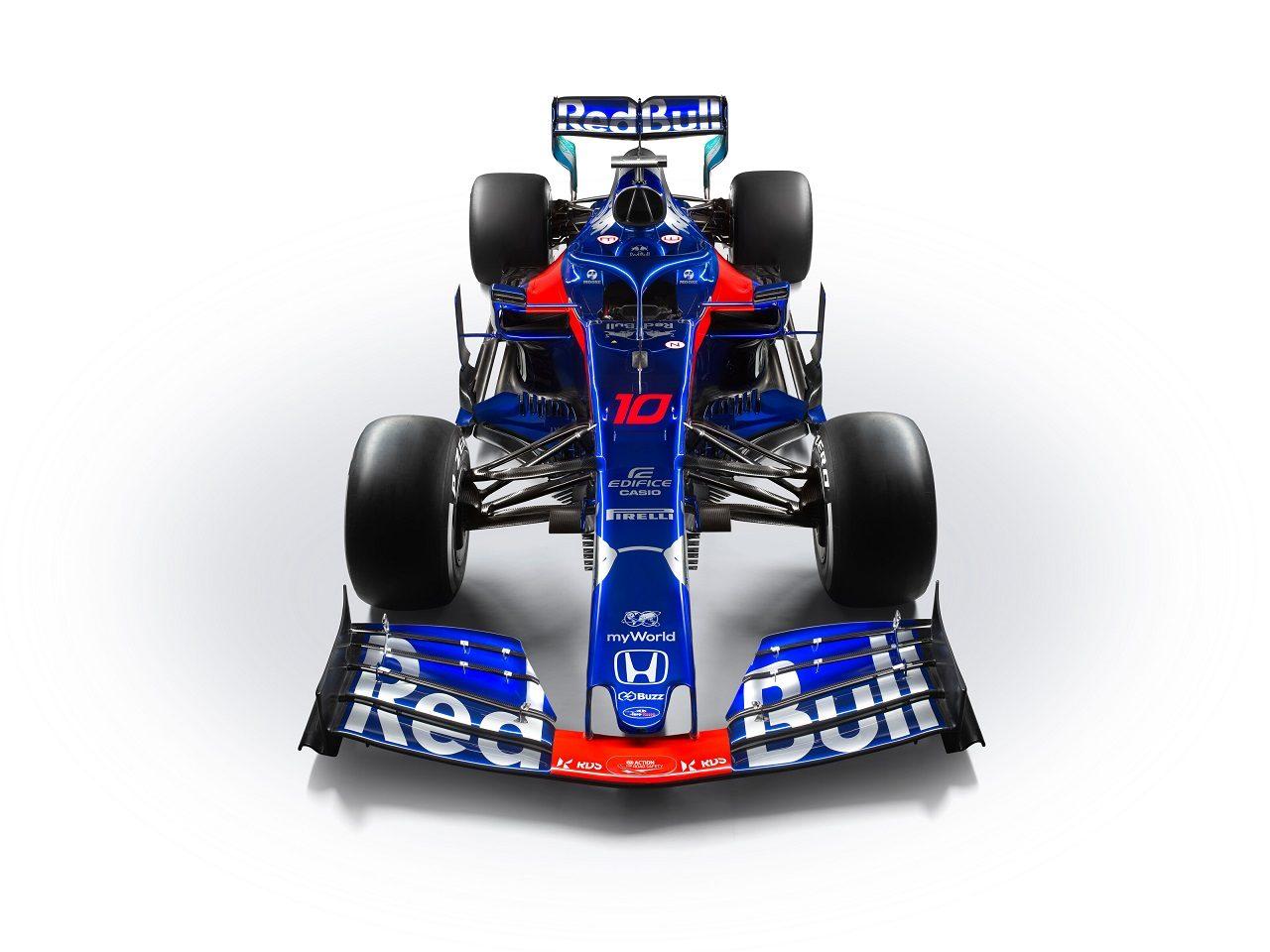 2019年F1第13戦ベルギーGP ピエール・ガスリーのトロロッソSTR14・ホンダ