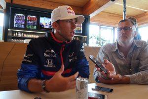 F1 | ガスリー木曜インタビュー:ほとんど笑顔を見せずも「今やるべきことは未来を見据えてベストを尽くすこと」/F1ベルギーGP
