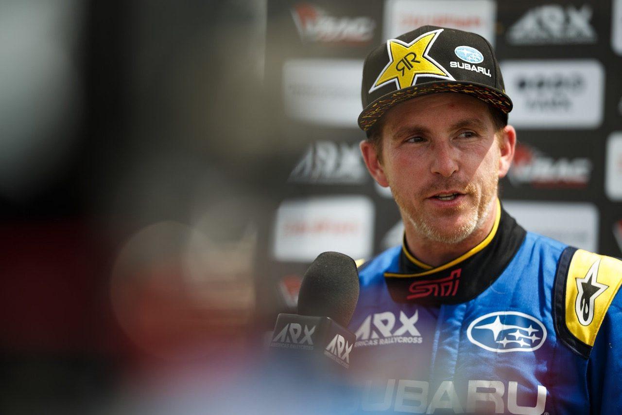 F1経験者で北米ラリークロス界のスター、スコット・スピードがジャンプの着地で脊椎損傷