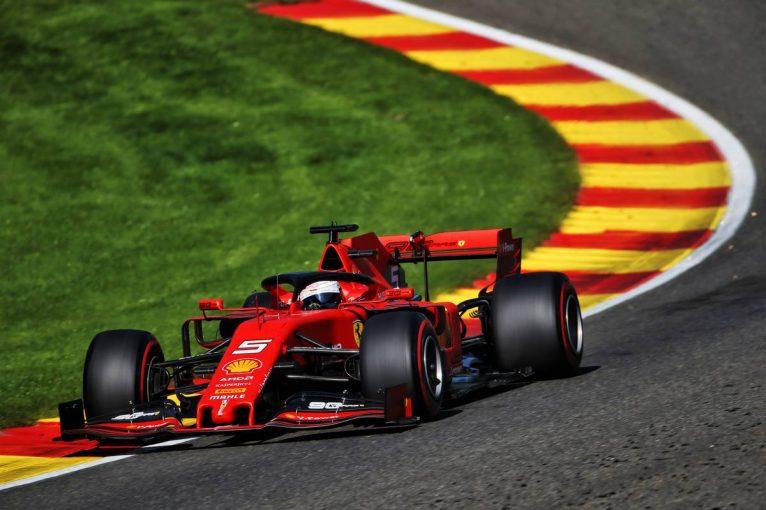 F1 | 【タイム結果】F1第13戦ベルギーGPフリー走行1回目