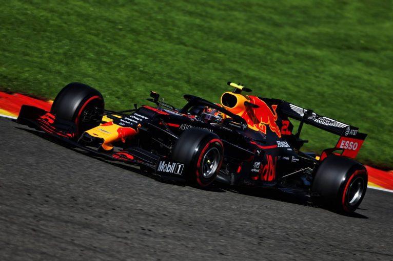 F1 | F1第13戦ベルギーGP FP1:ソフトタイヤのフェラーリがワンツー。レッドブル・ホンダ初走行のアルボンは4番手スタート