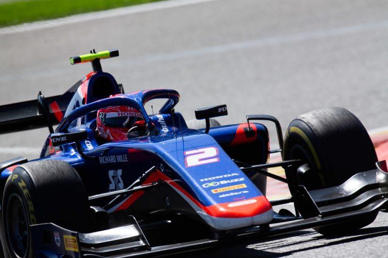 海外レース他   松下信治が4番手でセカンドロウスタートへ【順位結果】FIA-F2第9戦ベルギー予選