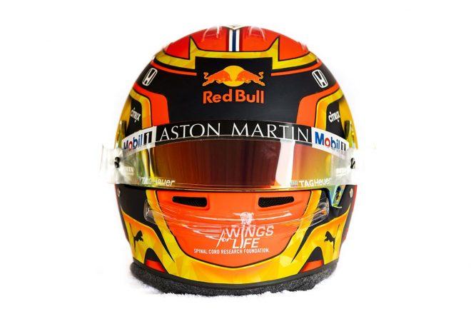 F1 | アレクサンダー・アルボン(Alexander Albon) 2019年のヘルメット1