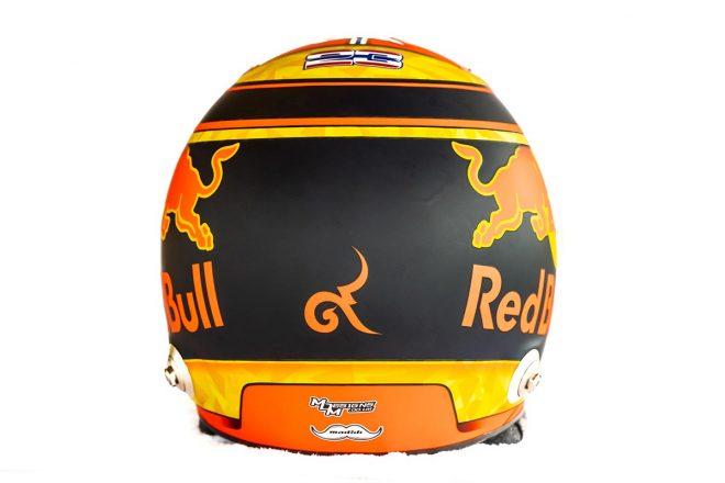 F1 | アレクサンダー・アルボン(Alexander Albon) 2019年のヘルメット3