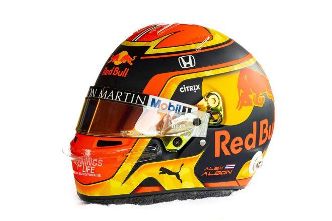 F1 | アレクサンダー・アルボン(Alexander Albon) 2019年のヘルメット2