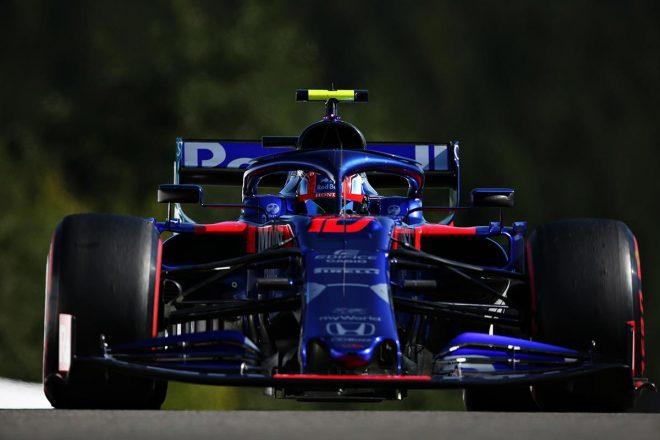 2019年F1第13戦ベルギーGP ピエール・ガスリー(トロロッソ・ホンダ)