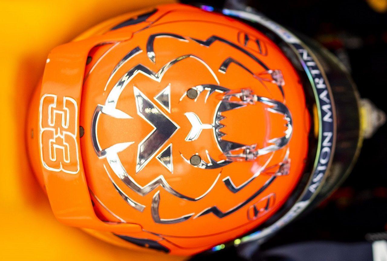 2019年F1第13戦ベルギーGP マックス・フェルスタッペン(レッドブル・ホンダ)のスペシャルヘルメット