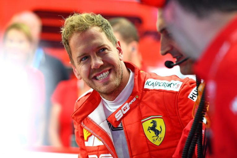 F1 | ベッテル2番手「今日の順位を鵜呑みにせず、レースペース改善に努める」:フェラーリ F1ベルギーGP金曜