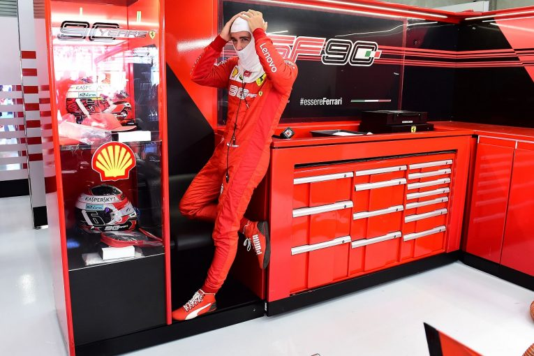 F1   ルクレール初日最速「メルセデスは絶対に上がってくる。エキサイティングなバトルになりそう」:フェラーリ F1ベルギーGP