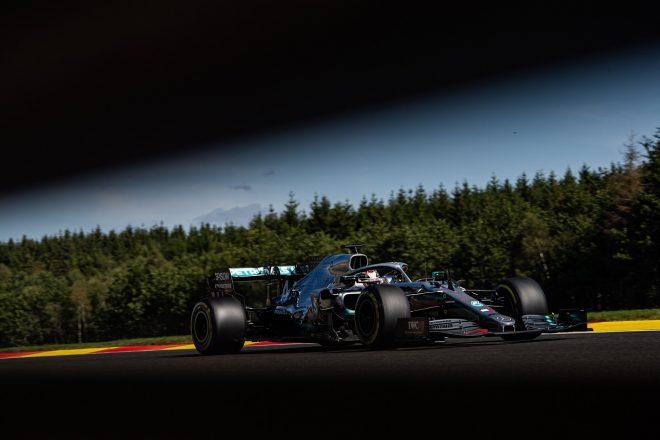 2019年F1第13戦ベルギーGP ルイス・ハミルトン(メルセデス)