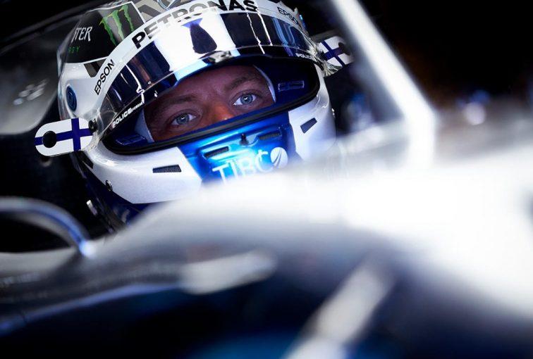 F1   ボッタス3番手「フェラーリに対抗するため、ダウンフォースレベルを見直す必要があるかも」:メルセデス F1ベルギーGP