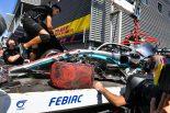 F1   ハミルトンがクラッシュ。フェラーリ勢が再びワンツーに【タイム結果】F1第13戦ベルギーGPフリー走行3回目