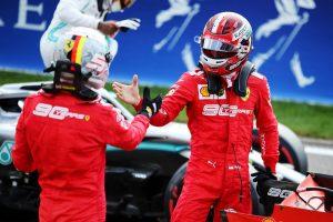 F1 | F1第13戦ベルギーGP予選:復活の跳ね馬、バーレーンGP以来のフロントロウ奪取。Q1では新スペックPU搭載の2台がブローする波乱