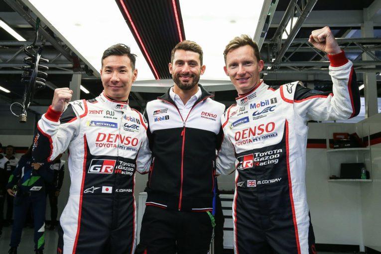 ル・マン/WEC | WEC:小林可夢偉「クルマを修復してくれたチームに感謝」。トヨタ、シャシー交換後の7号車が3年連続ポール獲得