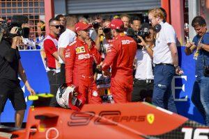 F1 | ベッテル予選2番手「言い訳はしない。ルクレールの方がいい仕事をしたのは事実」:フェラーリ F1ベルギーGP土曜