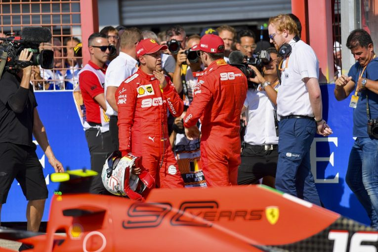 F1   ベッテル予選2番手「言い訳はしない。ルクレールの方がいい仕事をしたのは事実」:フェラーリ F1ベルギーGP土曜