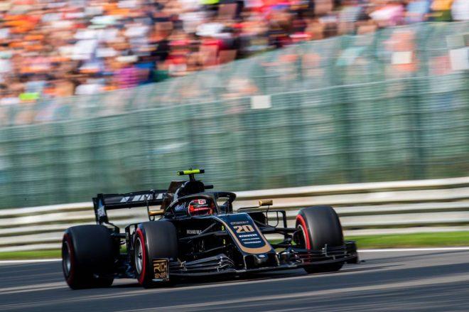 2019年F1第13戦ベルギーGP ケビン・マグヌッセン(ハース)