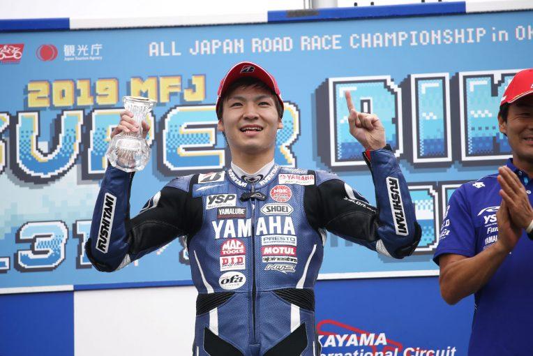 MotoGP | 2年ぶり優勝の野左根、中須賀より上の表彰台は「素晴らしいの一言」/全日本ロード第6戦決勝会見