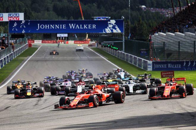 2019年F1第13戦ベルギーGP 決勝レーススタート