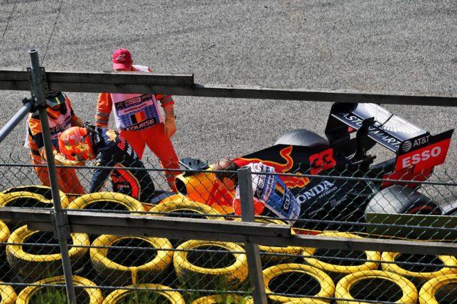 2019年F1第13戦ベルギーGP決勝 マックス・フェルスタッペンは1周目でリタイア
