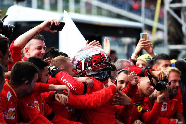 F1 | ルクレール、ユベールに捧げるF1初勝利、ホンダPU勢は3台入賞の大健闘/F1第13戦ベルギーGP決勝