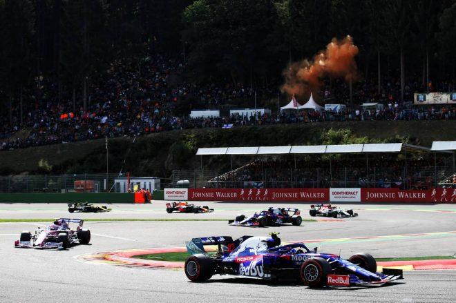 2019年F1第13戦ベルギーGP決勝 ピエール・ガスリー(トロロッソ・ホンダ)