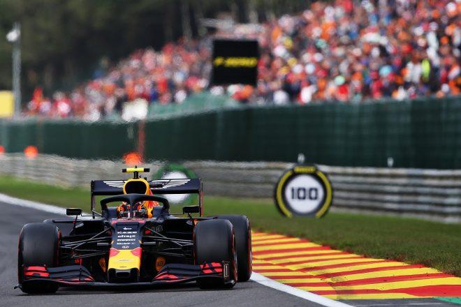 2019年F1第13戦ベルギーGP日曜 アレクサンダー・アルボン(レッドブル・ホンダ)は5位を獲得