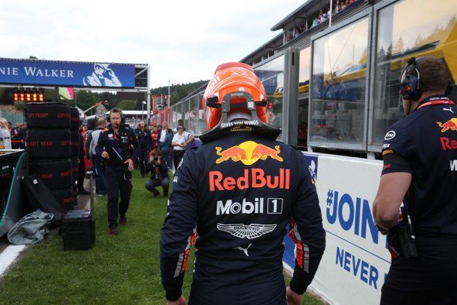2019年F1第13戦ベルギーGP日曜 マックス・フェルスタッペン(レッドブル・ホンダ)はリタイアに終わった