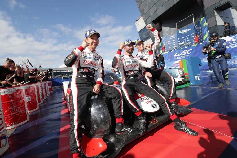 ル・マン/WEC | WEC:トヨタ、TS050最後のシーズン開幕戦で1-2フィニッシュ。「ドライバーたちは難コンディションでも冷静だった」