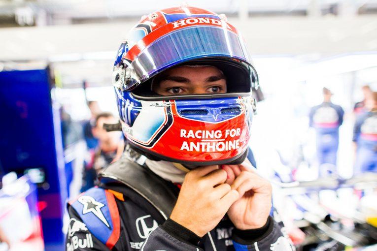 F1   ガスリー、親友の死に深い悲しみ「仲間のシャルルに『アントワーヌのために勝って』と頼んだ」:F1ベルギーGP