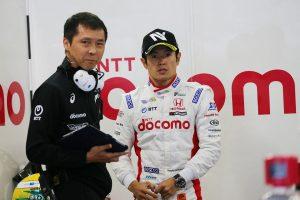 スーパーフォーミュラ | 山本尚貴(DOCOMO TEAM DANDELION RACING)と杉崎公俊エンジニア