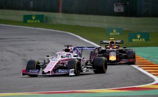 F1 | ペレス「最終ラップでアルボンに抜かれて6位。彼は強すぎて太刀打ちできなかった」:レーシングポイント F1ベルギーGP