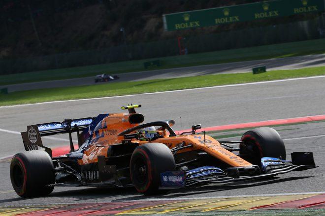 2019年F1第13戦ベルギーGP ランド・ノリス(マクラーレン)