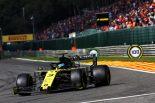 2019年F1第13戦ベルギーGP ダニエル・リカルド(ルノー)