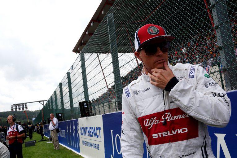 F1   ライコネン「レースはターン1で終わった。強力なマシンがあったのに残念」:アルファロメオ F1ベルギーGP日曜