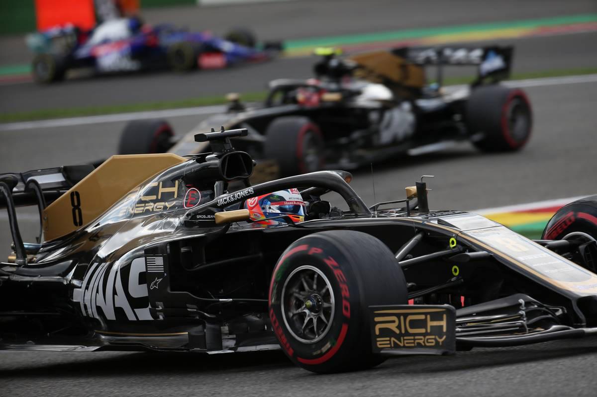 2019年F1第13戦ベルギーGP ロマン・グロージャン(ハース)