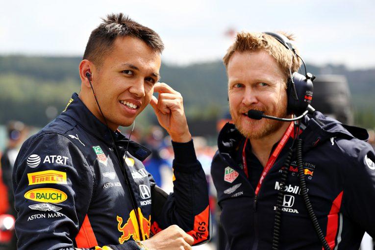F1 | レッドブルF1代表、アルボンの初戦を絶賛「ミスをせず、素晴らしい働きでチームに好印象を与えた」