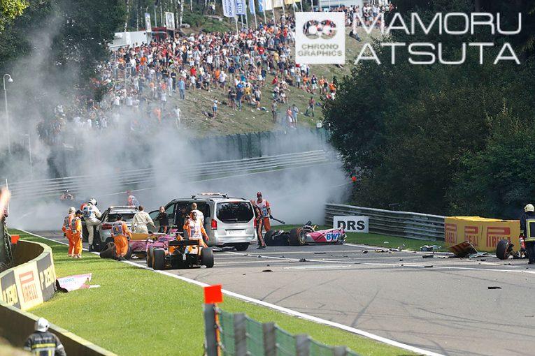 Blog | モータースポーツの危険性を改めて認識。命を賭けて走るドライバーたちに敬意を/F1ベルギーGP【ブログ】Shots