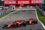 F1 | フェラーリF1、チームオーダー発令が奏功し今季初優勝「早めのピットインは最善策ではなかった」