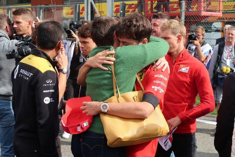 Blog | 【ブログ】亡き親友への思いを胸に初勝利を手にしたルクレール/F1ベルギーGP現地情報その2
