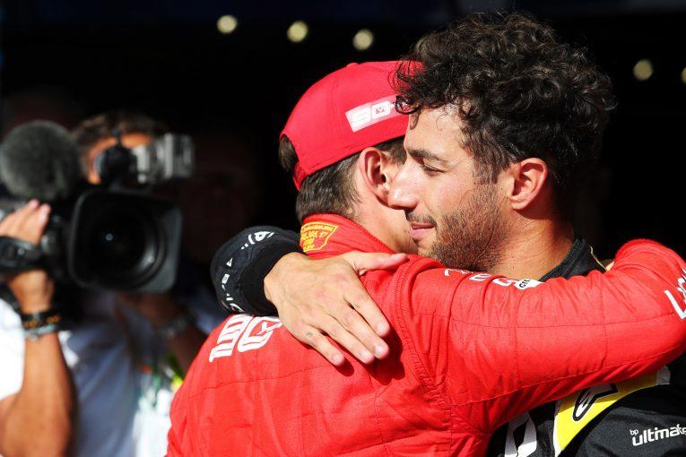 F1 | リカルド、ユベールの事故後の辛い心境を明かす「本当にレースをすべきかどうか考えた」
