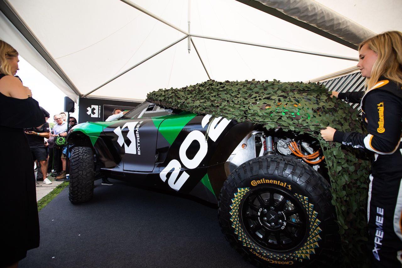 電動SUVによるオフロード戦『エクストリームE』。2021年開幕戦の舞台はグリーンランドに