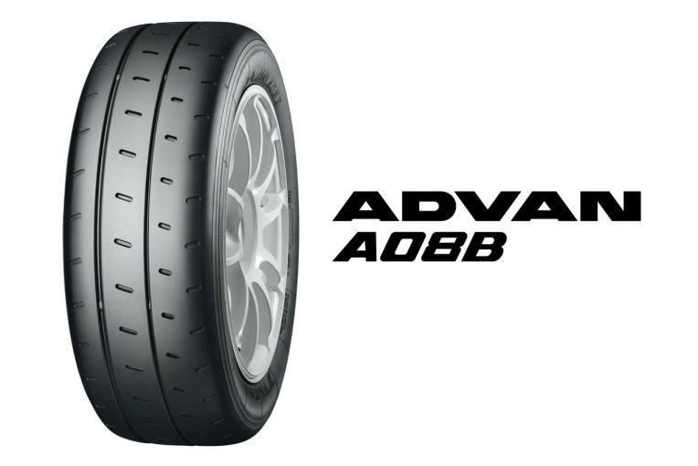 クルマ | 横浜ゴム、ジムカーナ競技向けタイヤ『ADVAN A08B SPEC G』に新サイズを追加