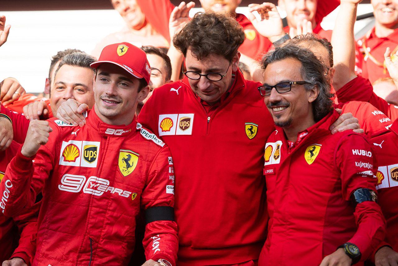 2019年F1第13戦ベルギーGP シャルル・ルクレール(フェラーリ)