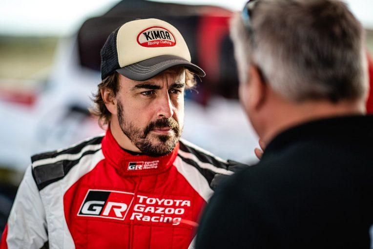 F1   スパでは代役候補の可能性もあったアロンソ、今週末のイタリアGPでマクラーレンF1に帯同