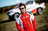 F1、WECでチャンピオンを獲得したフェルナンド・アロンソ。次はダカールラリーに焦点をあわせ活動を始めている