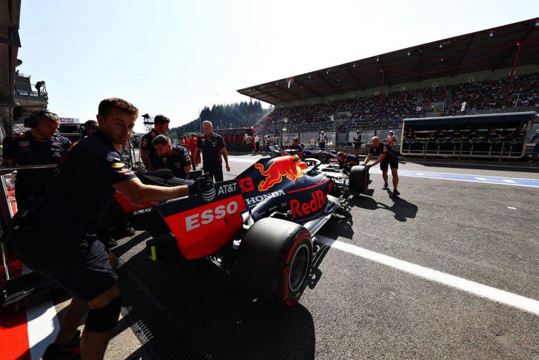 F1   ホンダF1、イタリアでフェルスタッペン&ガスリー車にスペック4投入「新PUの力を最大限引き出していいレースをしたい」
