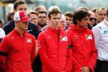 海外レース他 | 2019年F1第13戦ベルギーGP 決勝レース前にアントワーヌ・ユベールへの黙祷を捧げる